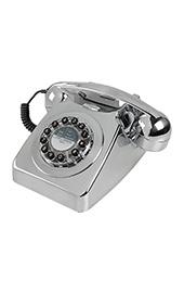 Metalik Gri Telefon