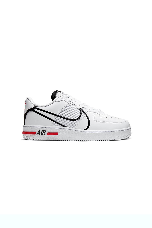 Playa exilio Sotavento  Beyaz Nike Nike Air Force 1 React Spor Ayakkabı - Vakkorama